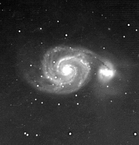 """M51 is one of Steve's favorites. It's called a """"globular cluster"""", also within the constellation Hercules."""